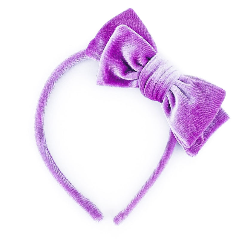 Violet Velvet - Big Girl Headband