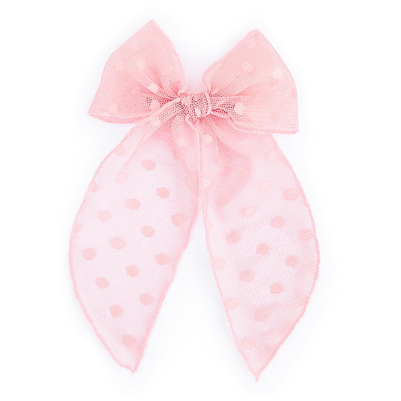 Pink Swiss Dot - Oversized Fairytale