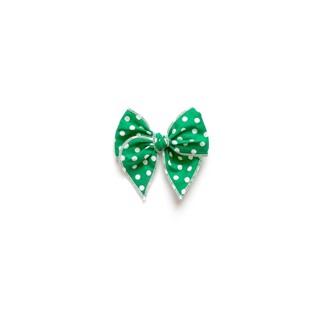 Kelly Green Polka Dot - Mini Fairytale