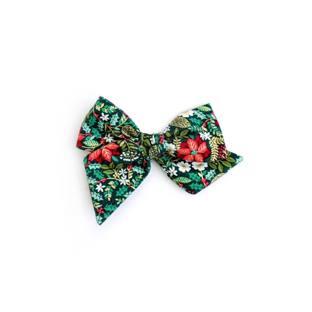 Christmas Floral Holly - Mini Twirl