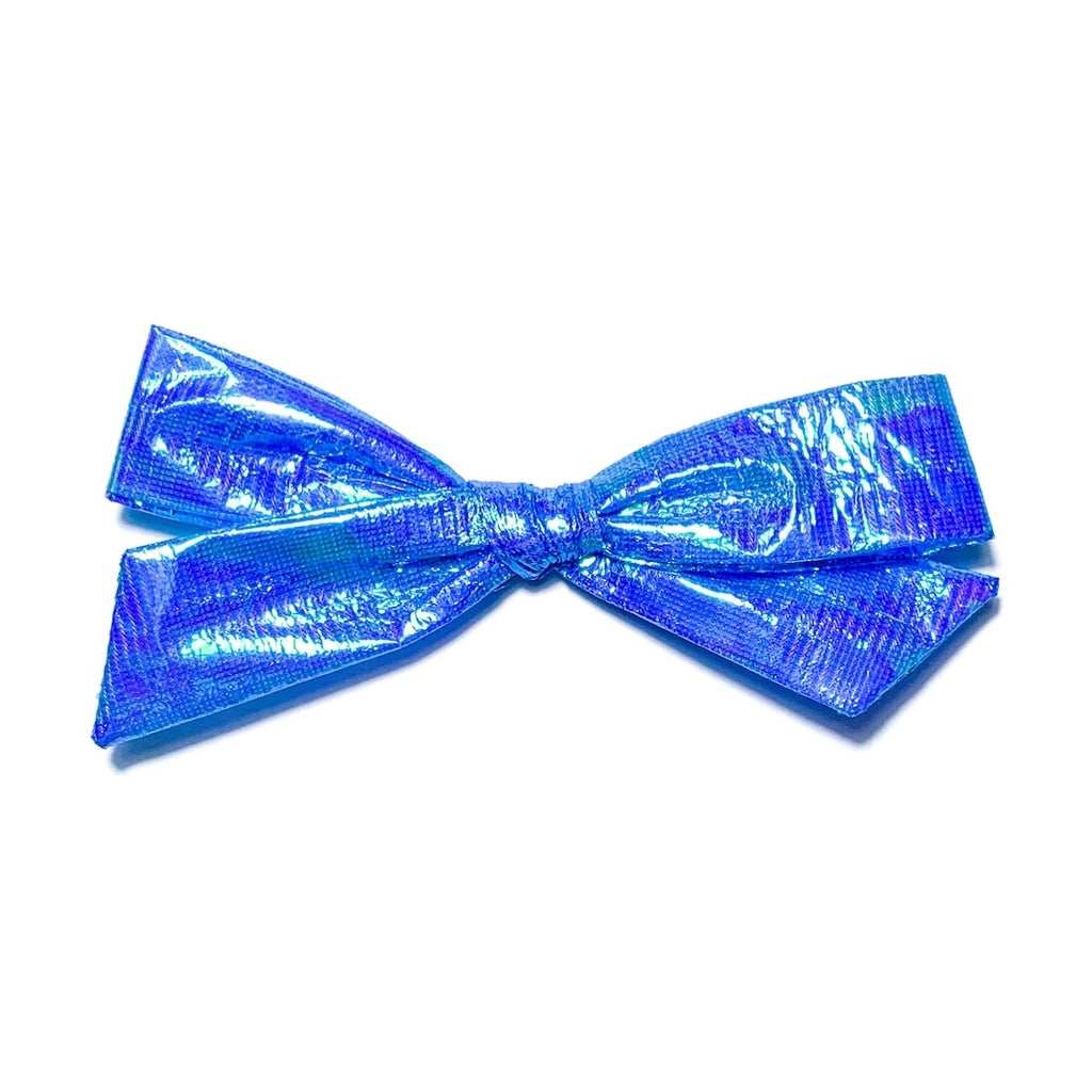 Swim Irridescent Blue - Oversized Knot