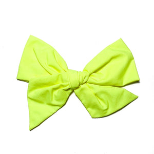 Swim Neon Yellow - Oversized Twirl