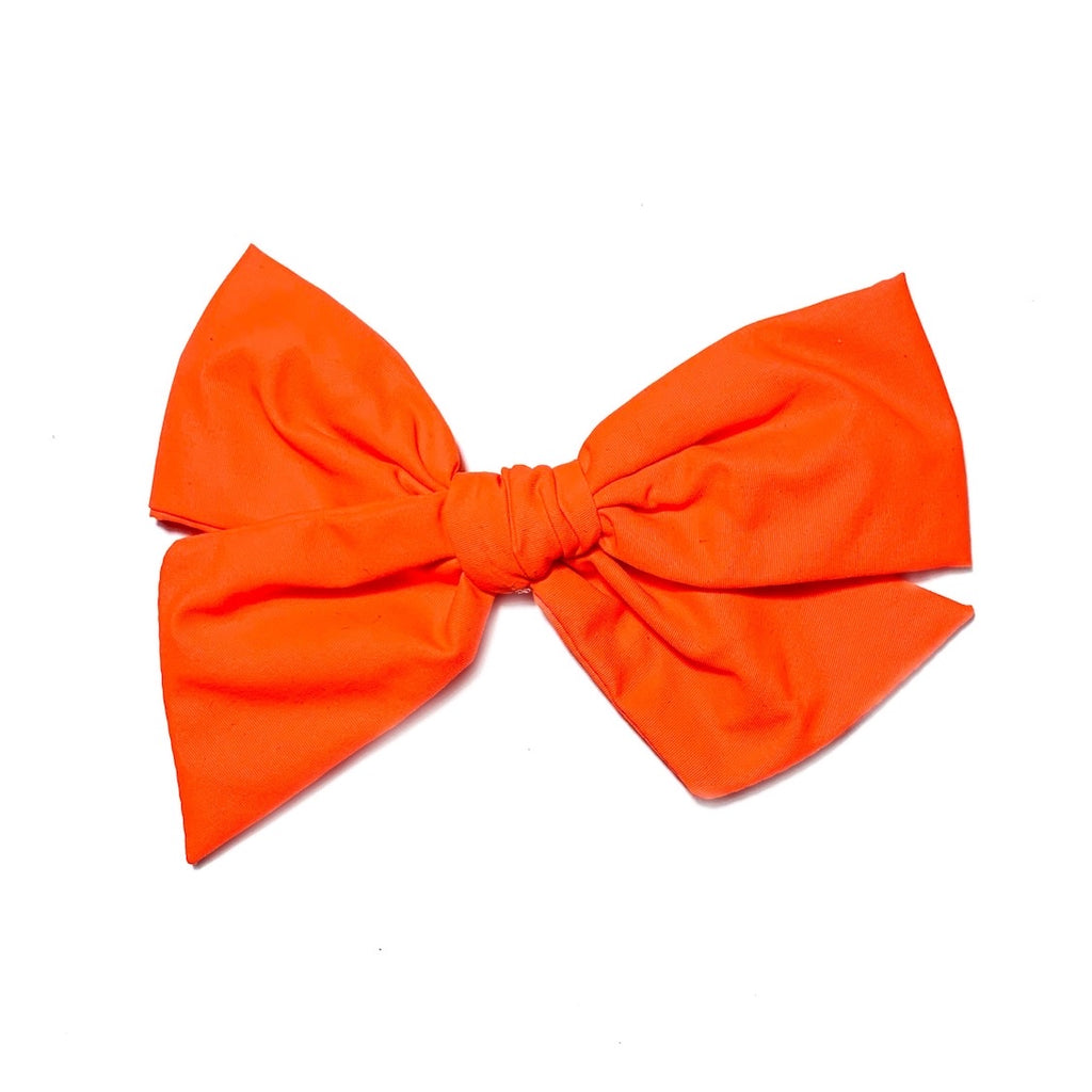 Swim Neon Orange - Oversized Twirl