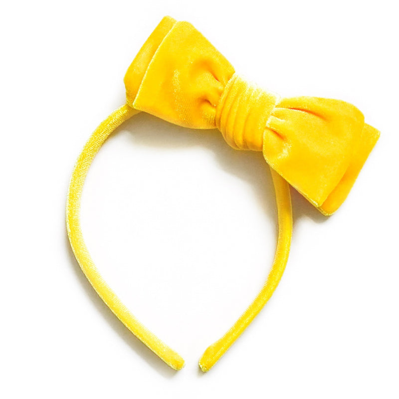 Sunshine Velvet - Big Girl Headband