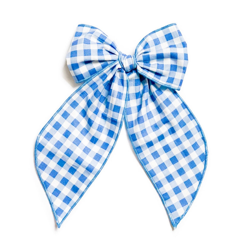 Blue Gingham - Oversized Fairytale