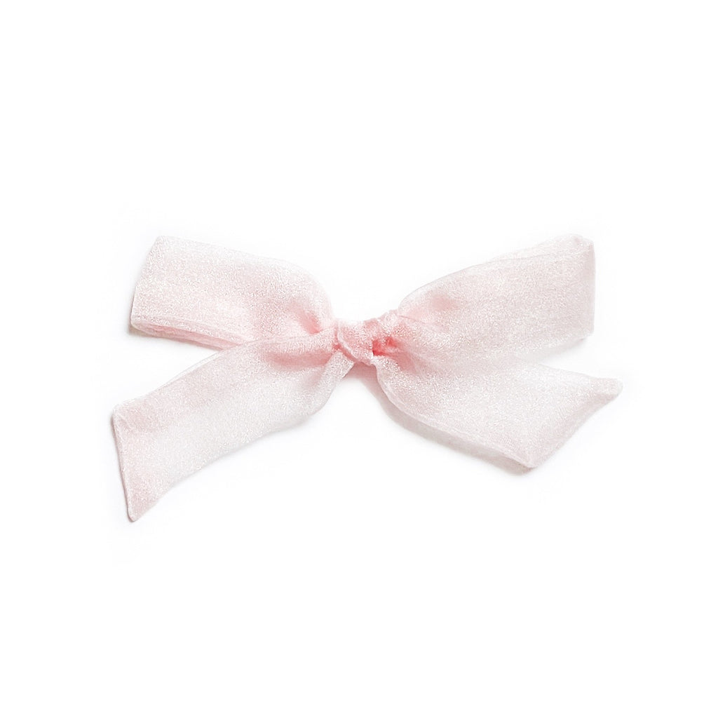 Powder Pink Chiffon - Oversized Knot