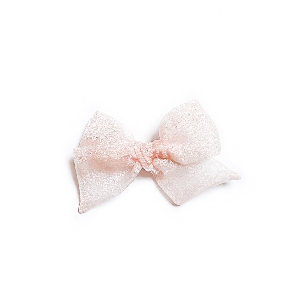 Powder Pink Chiffon - Mini Twirl