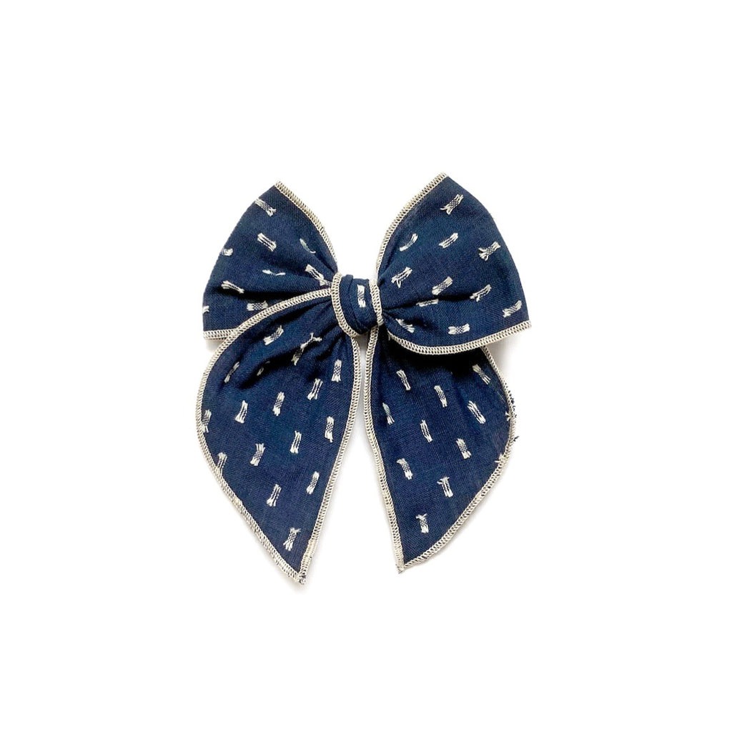 Navy Clip Dot - Medium Fairytale