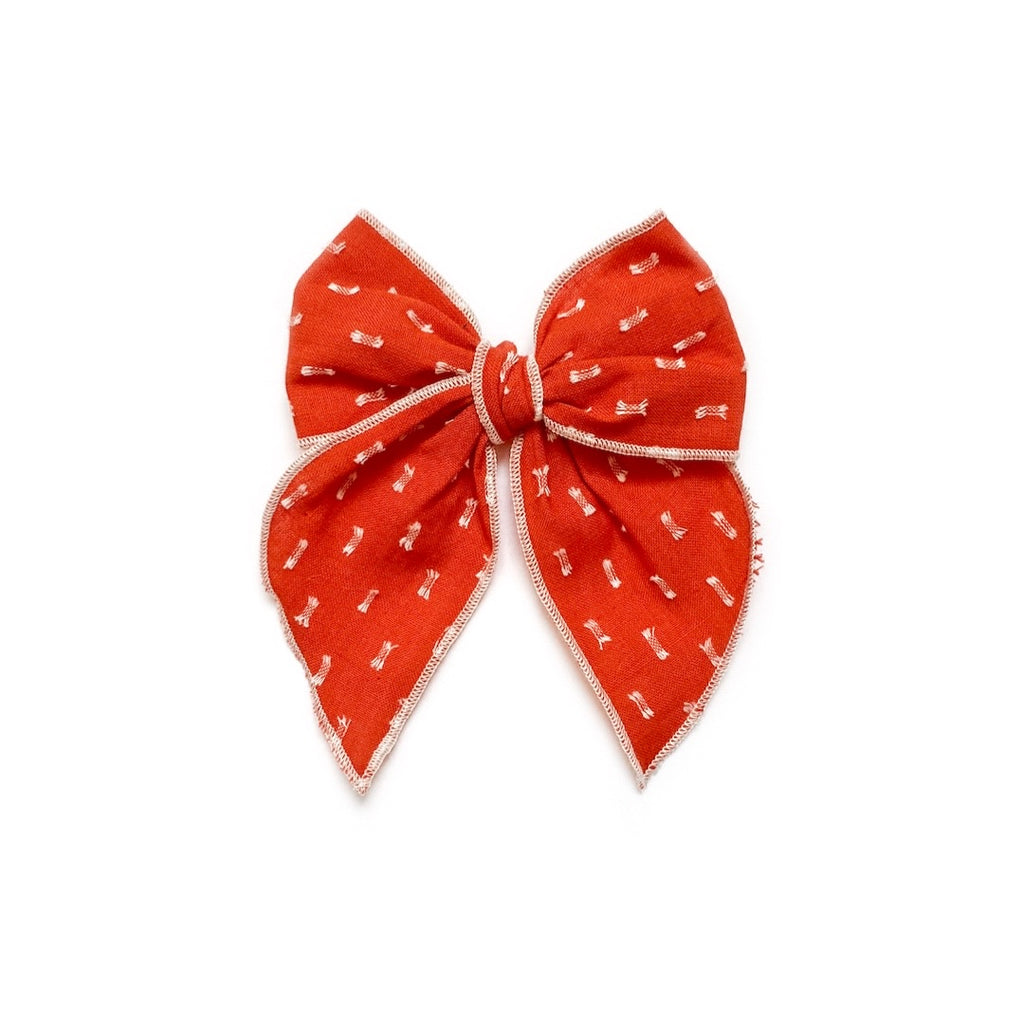 Burnt Orange Clip Dot - Medium Fairytale