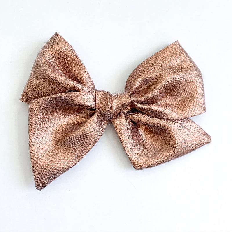 Metallic Rose Gold - Oversized Twirl