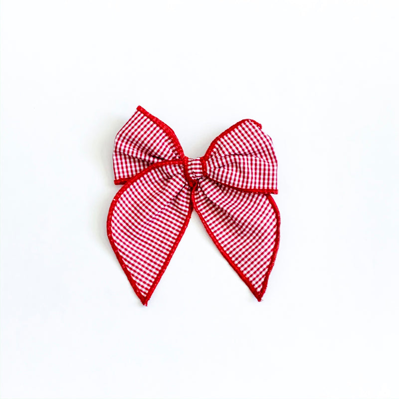 Red & White Mini Check - Medium Fairytale