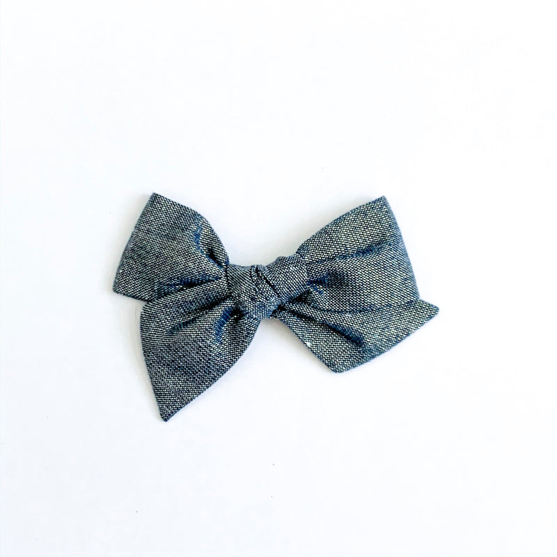 Navy Tinsel - Mini Twirl