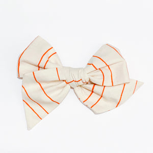 Pumpkin Stripes - Oversized Twirl