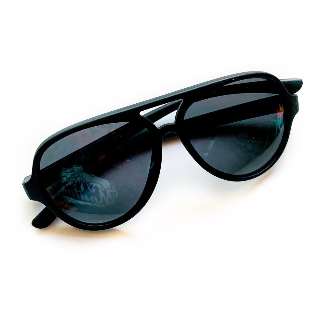 Color Block Sunnies - Black