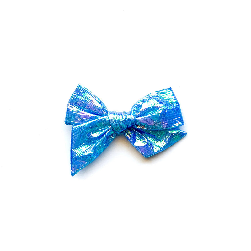 Swim Iridescent Blue - Mini Twirl