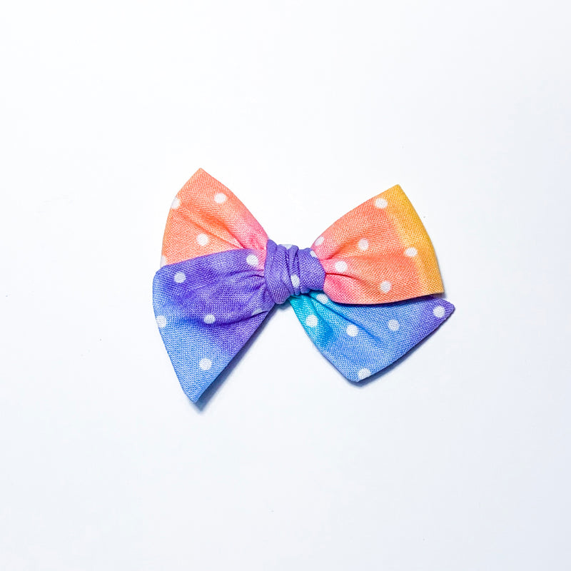 Rainbow Dots - Mini Twirl