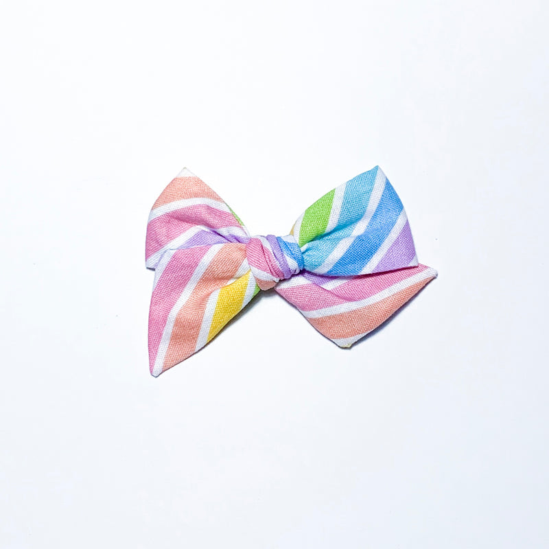 Rainbow Stripe - Mini Twirl