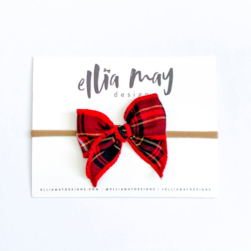 Traditional Christmas Plaid Red - Mini Fairytale