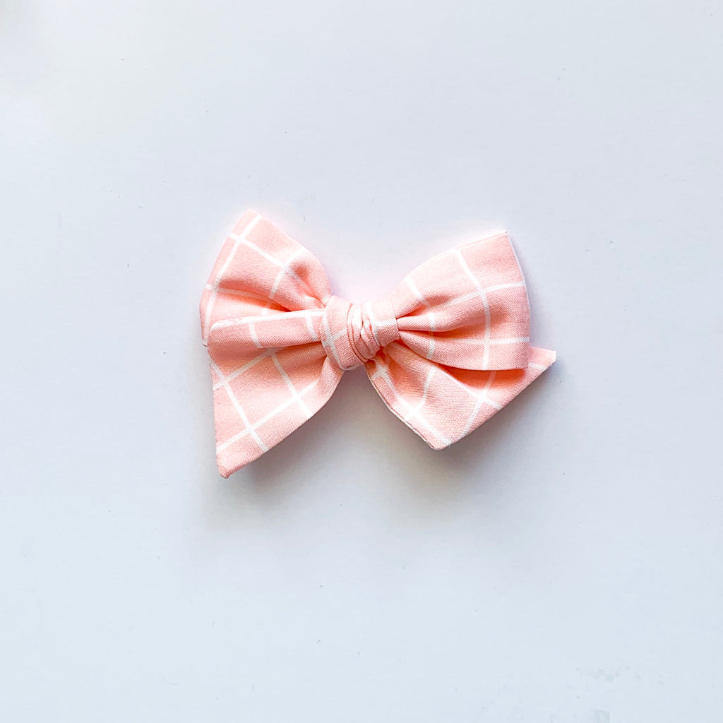Blush Grid - Mini Twirl