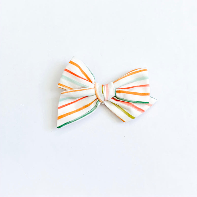 Modern Thin Holiday Stripe - Mini Twirl