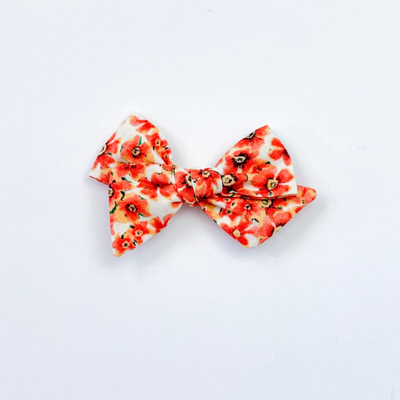 Orange Floral - Mini Twirl