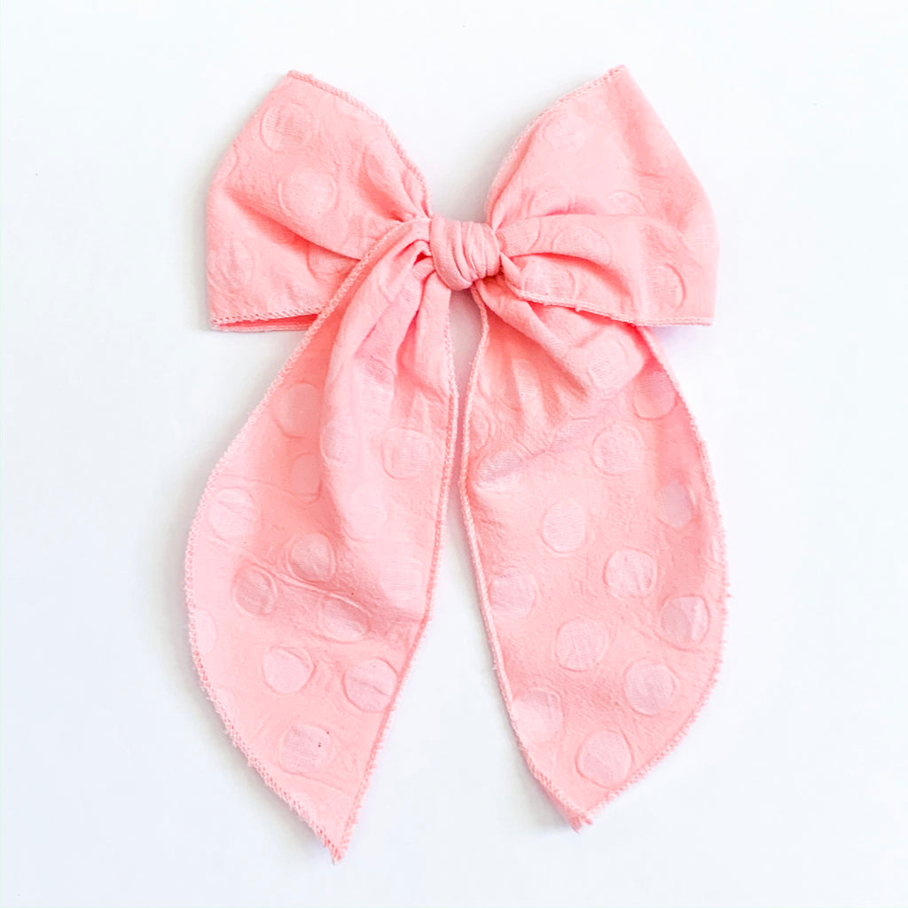 Blush Soft Dot - Oversized Fairytale