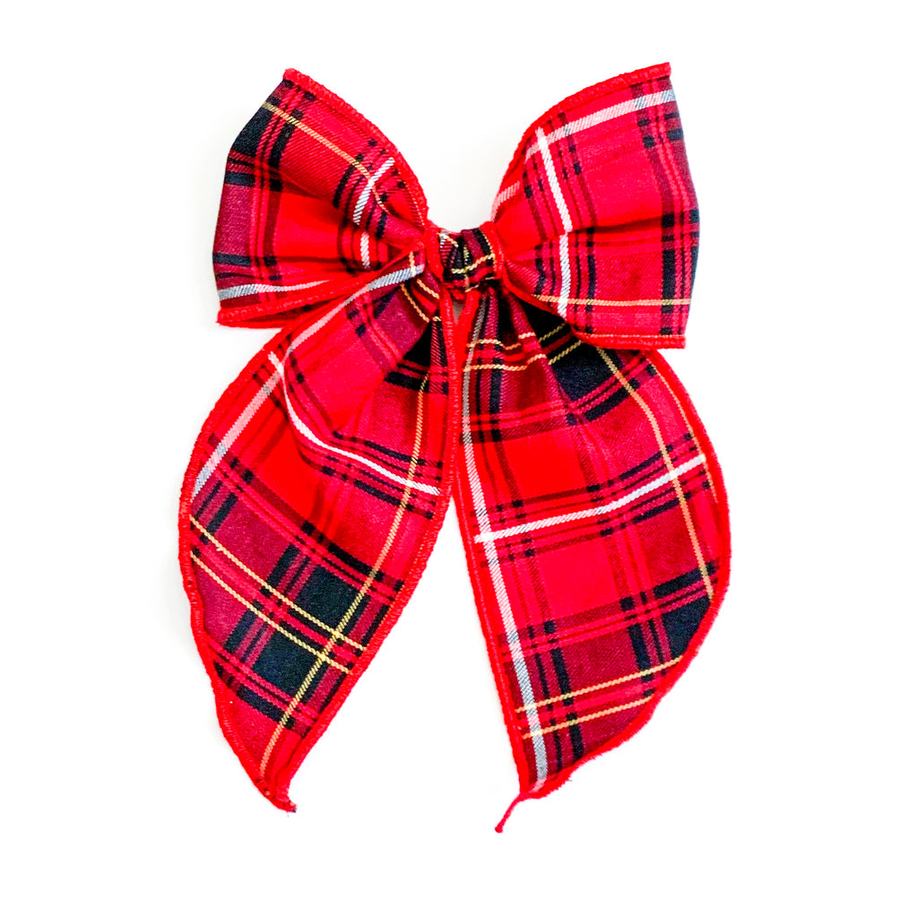Christmas Plaid Red - Oversized Fairytale