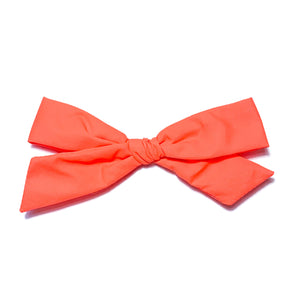 Swim Neon Orange - Oversized Knot