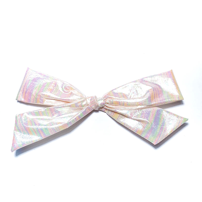 Swim Irridescent Unicorn - Oversized Knot