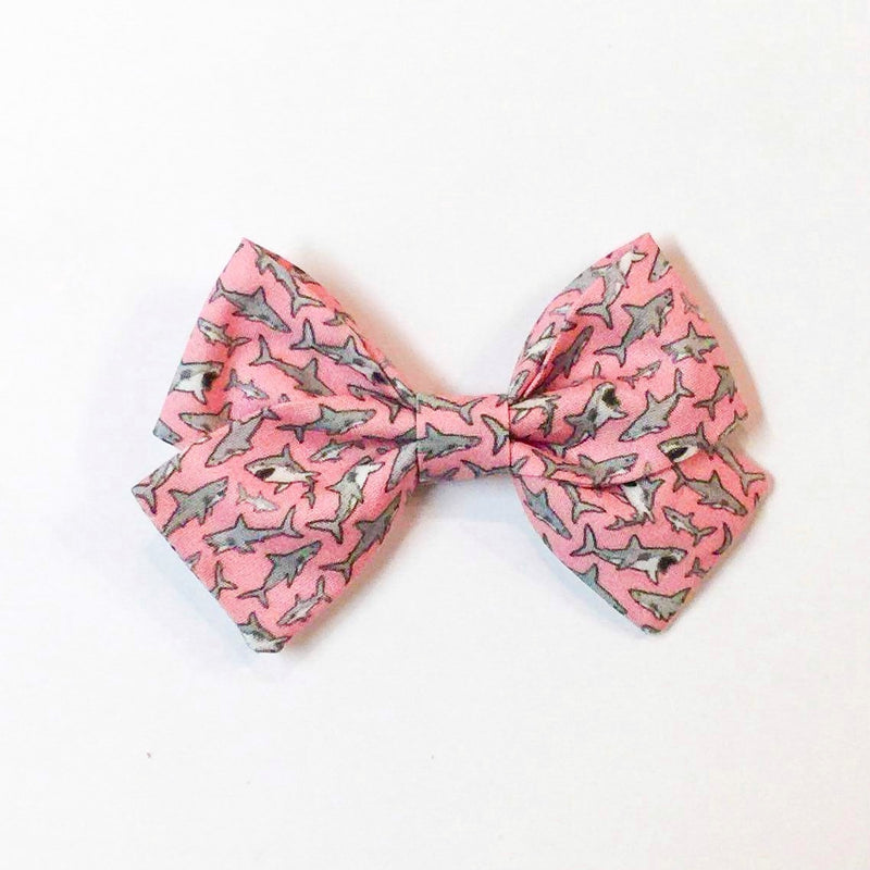 Pink Shark - Sailor Bow