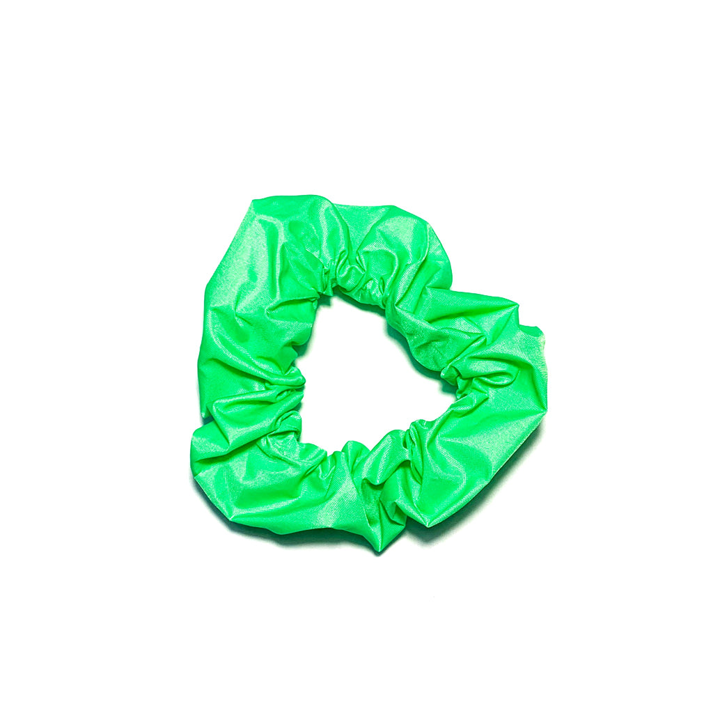 Swim Neon Green - Scrunchie