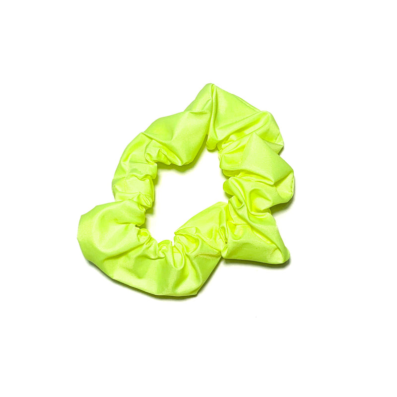 Swim Neon Yellow - Scrunchie