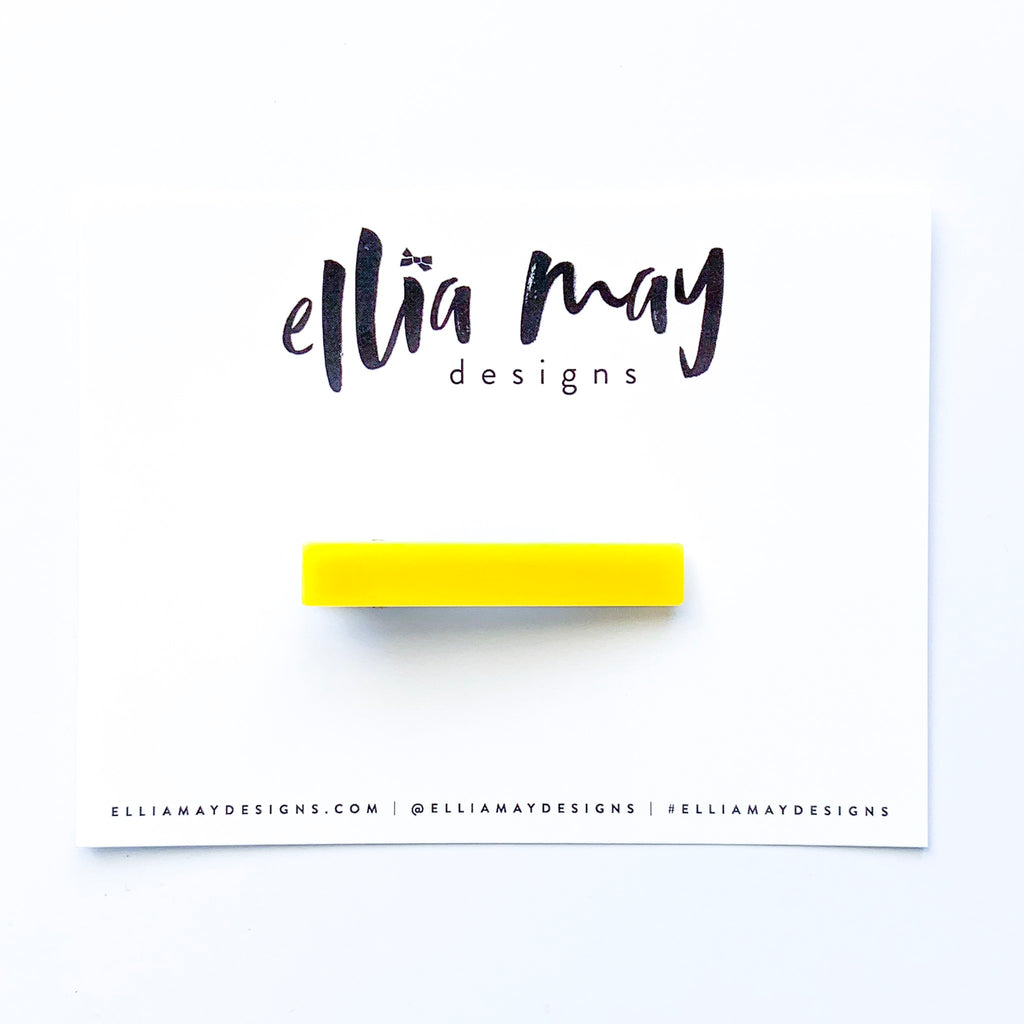 Bar Clip - Yellow