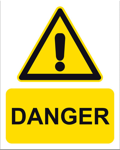 Danger Sign - Markit Graphics