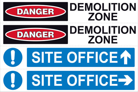 Site Safe 4 Sign - Markit Graphics
