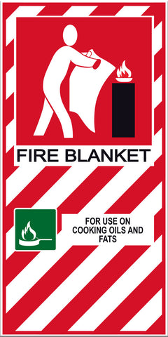 Fire Blanket Sign - Markit Graphics