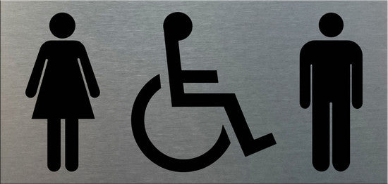 Ladies Gents Para/Wheelchair (Symbol) - Markit Graphics