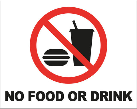 No Food or Drink - Markit Graphics