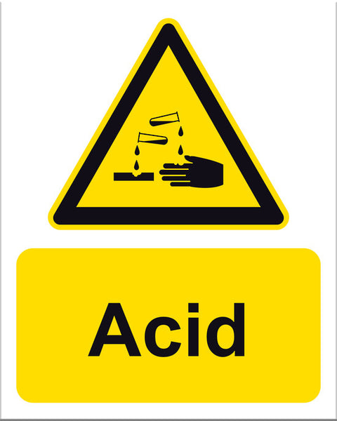 Acid Sign - Markit Graphics