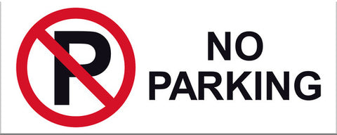 No Parking Sign - Markit Graphics