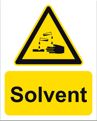 Solvent Sign - Markit Graphics