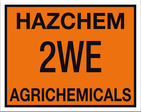Hazchem Agrichemicals Sign - Markit Graphics