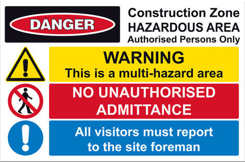 Site Safe 1 Sign - Markit Graphics