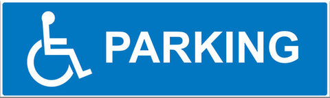 Disabled Parking Sign - Markit Graphics
