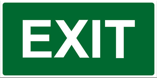Exit Sign - Markit Graphics