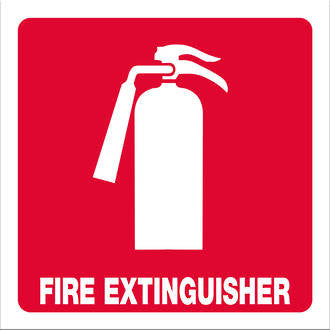 Fire Extinguisher (with text) - Markit Graphics