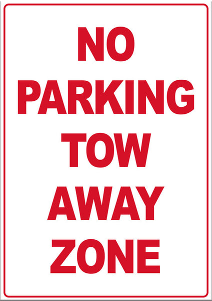 No Parking Tow Away Zone - Markit Graphics