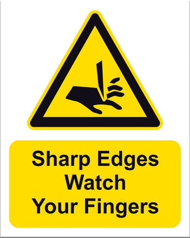 Sharp Edges Watch your Fingers - Markit Graphics