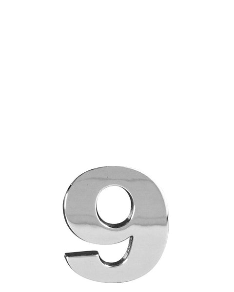 3D CHROME - 303D (Numbers 0 to 9) - 30mm