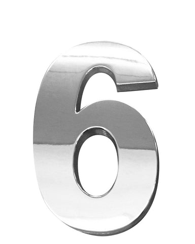3D CHROME - 603D (Numbers 0 to 9) - 60mm